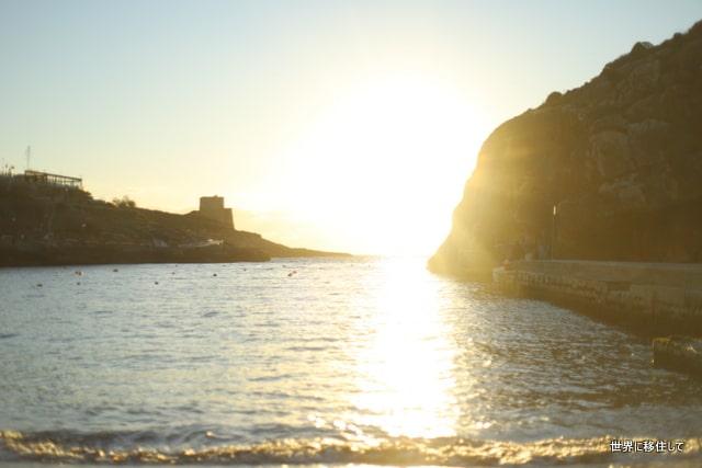 ゴゾ島 ビーチ