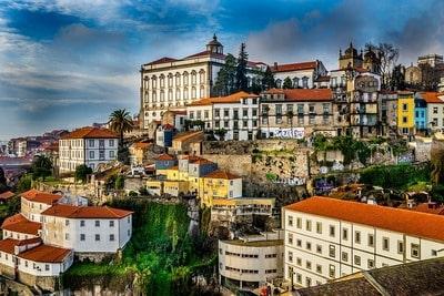 ポルトガル ポルトの街並み