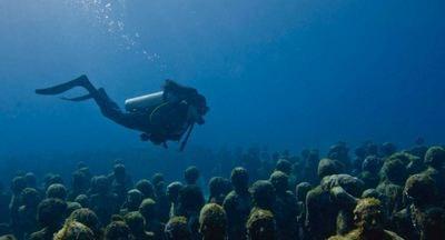 カンクン海底美術館 カンクン メキシコ