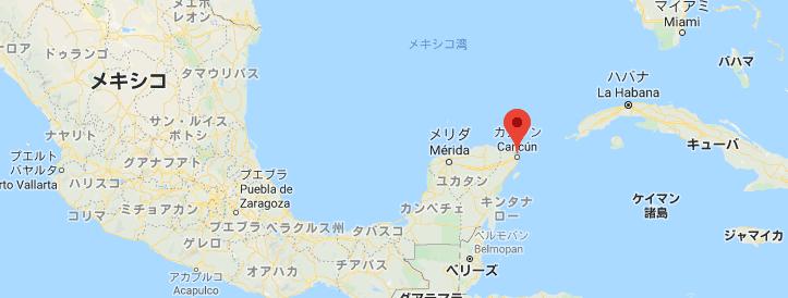 カンクン マップ