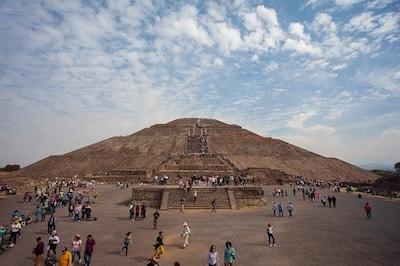 メキシコ カンクン テオティワカン 遺跡