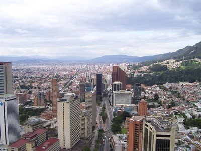 コロンビア、ボゴタ