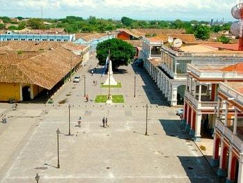 ニカラグア グラナダの街並み