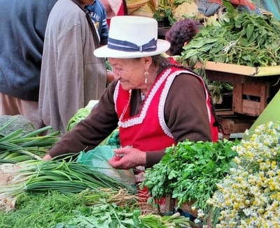 エクアドル グアヤキルのマーケット