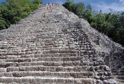 メキシコ カンクン コバ遺跡