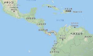 パナマ 地図