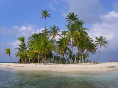 パナマ サンブラス諸島