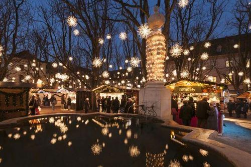 スイス バーゼルのクリスマスマーケット