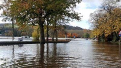 2019年11月8日 イギリス 洪水