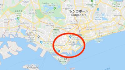 シンガポール CBDエリア