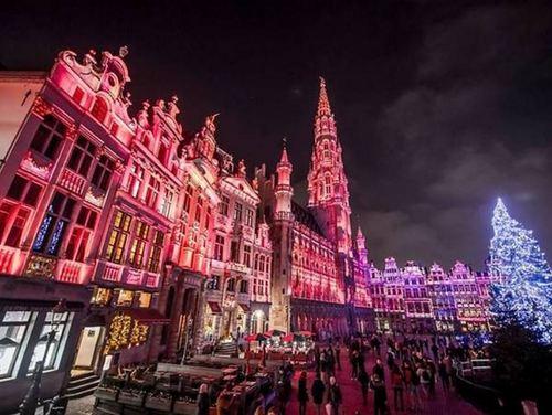 ベルギー  ブリュッセル クリスマスマーケット