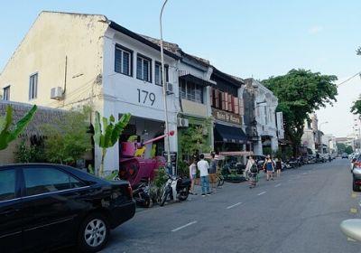 マレーシア ペナン 人気の地区 移住