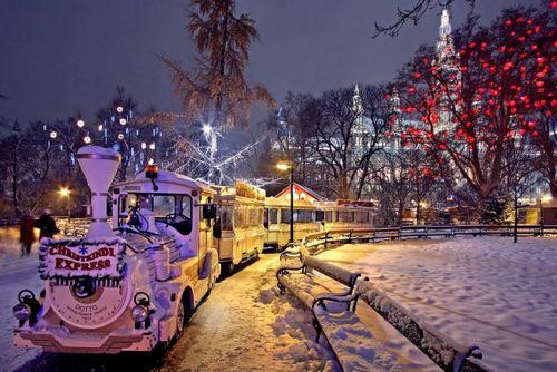 オーストリア ウィーン クリスマスマーケット