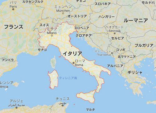 イタリア 基礎データ