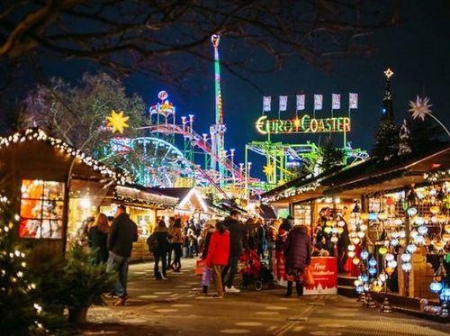 イギリス ロンドン クリスマスマーケット