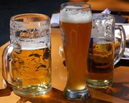 ドイツ人のビールの年間消費量