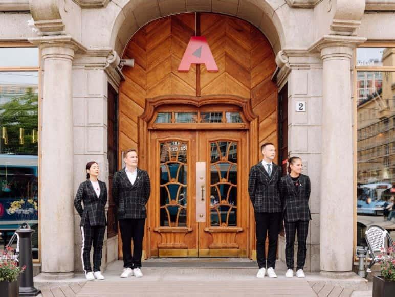 ヨーロッパアワードに選出されたホテル ノルウェー