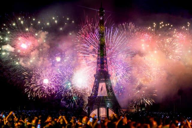 フランス パリ 大晦日