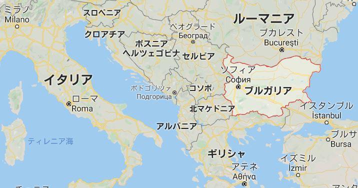 ブルガリア 基礎データ マップ