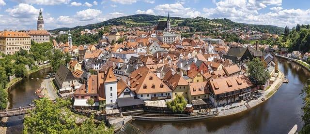 チェコ移住 おすすめの都市 チェスキー・クルムロフ(Český Krumlov)