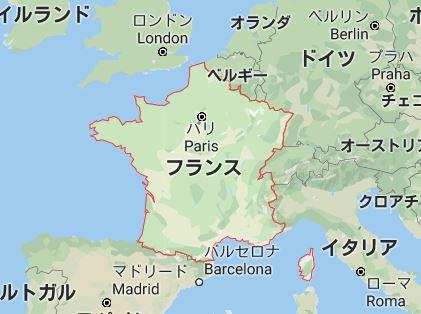 フランス 基礎データ マップ