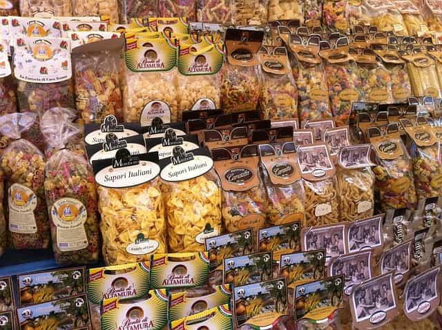 イタリアの物価 スーパーマーケット