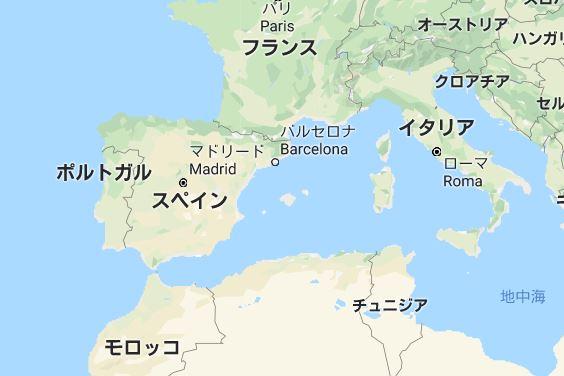 スペイン 基礎データ マップ