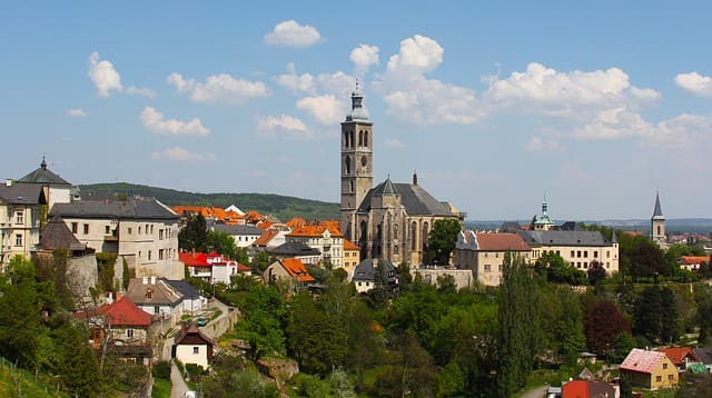 クトナーホラ チェコ 観光
