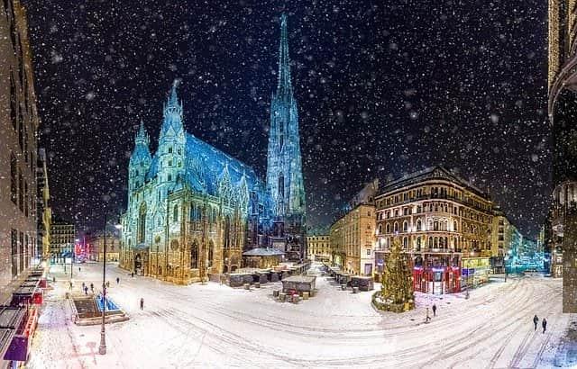 大晦日におすすめの都市 ウィーン