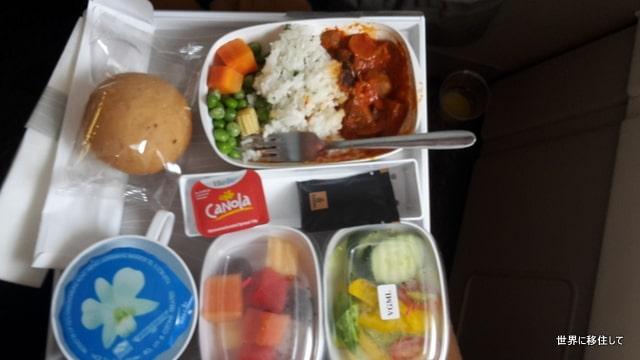 エミレーツ航空 ヴィーガン料理