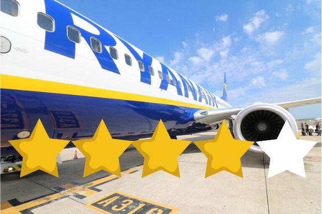 Ryanairの評価 レビュー