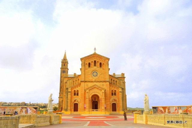 タピーヌ聖堂 タピーヌ教会 ゴゾ マルタ