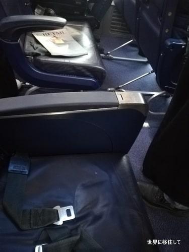 ライアンエアー(Ryanair)座席の幅・サイズ