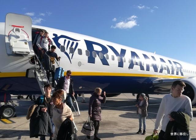 ライアンエアー(Ryanair)レビュー オンラインチェックイン