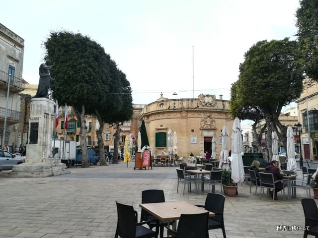 マルタ ゴゾ島 広場