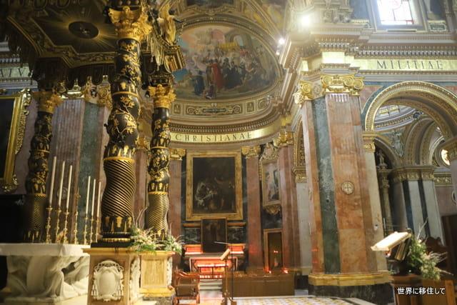 マルタ ゴゾ島 ビクトリア 観光 聖ジョージ教会 st george basilica