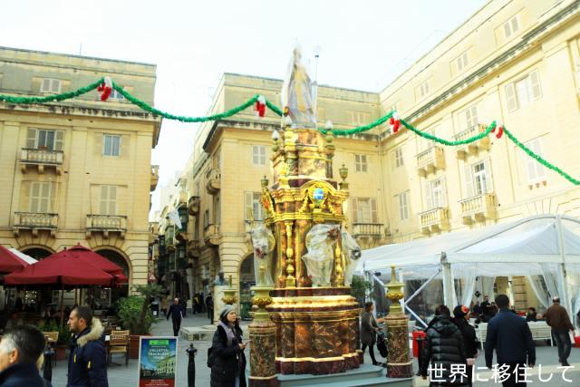 ヴァレッタ 観光 像