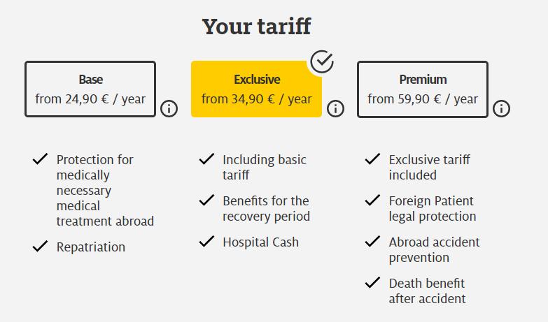 ヨーロッパの海外旅行保険