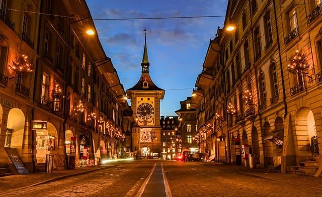 ヨーロッパの最も美しい都市 スイス ベルン