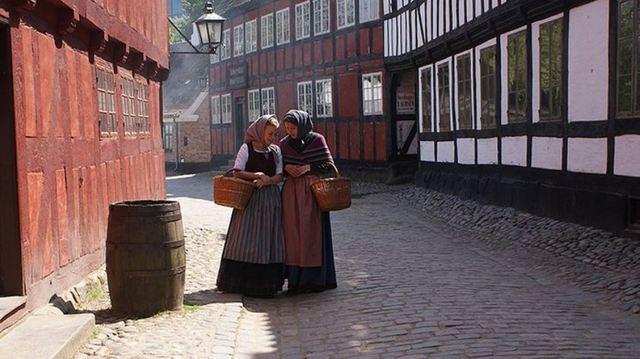 オーフス デンマークのオールドタウン