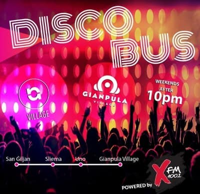 マルタ バス Disco Bus