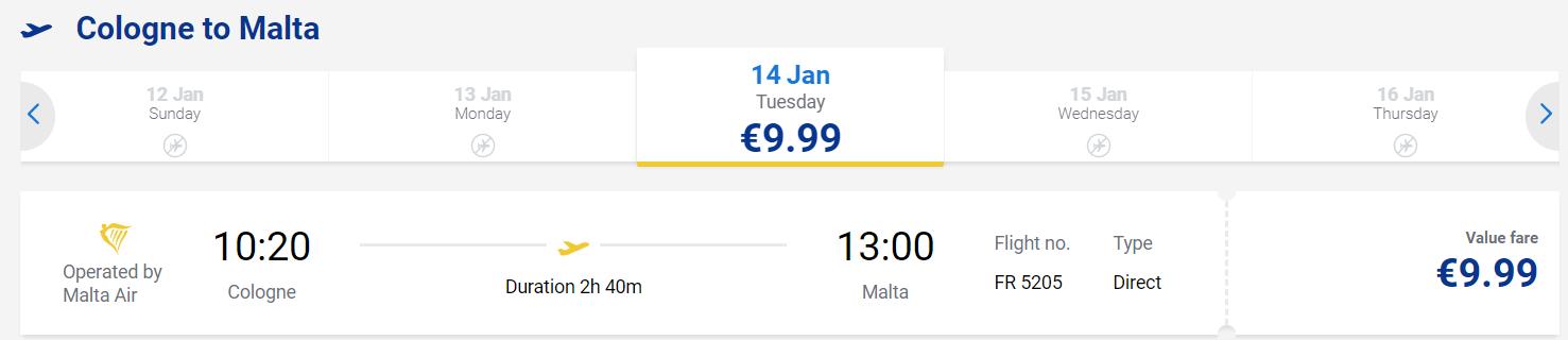Ryanair 運賃 格安