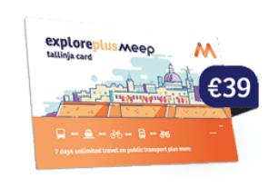 ExplorePlus Meepカード 使い方