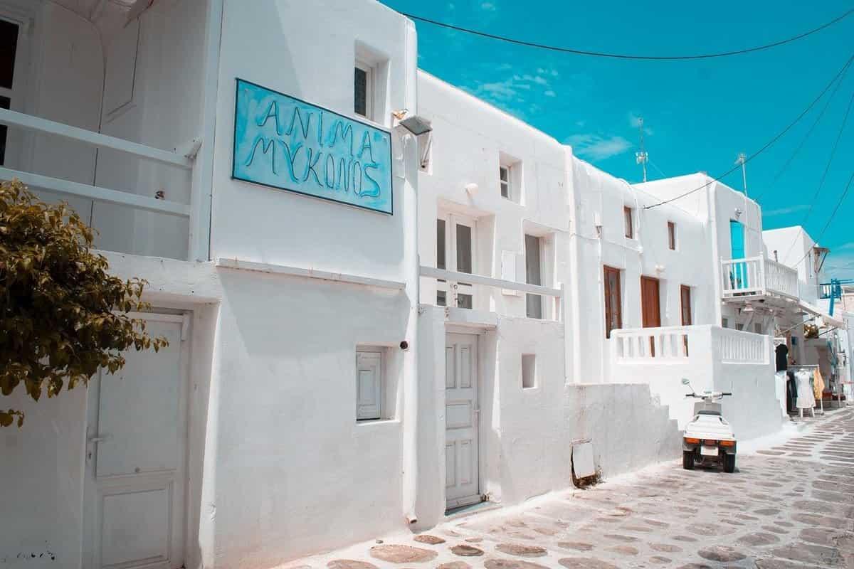 ギリシャ移住に人気の都市・ミコノス島