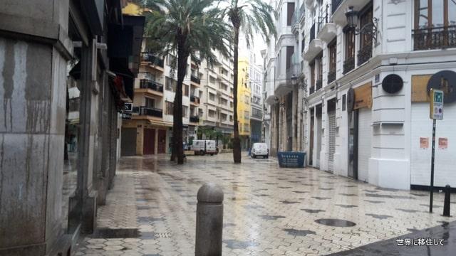 コロナウイルス・スペイン、バレンシアの観光地の状況