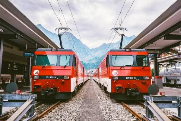 スイスの治安・鉄道