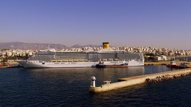ギリシャの治安・ピレウス港