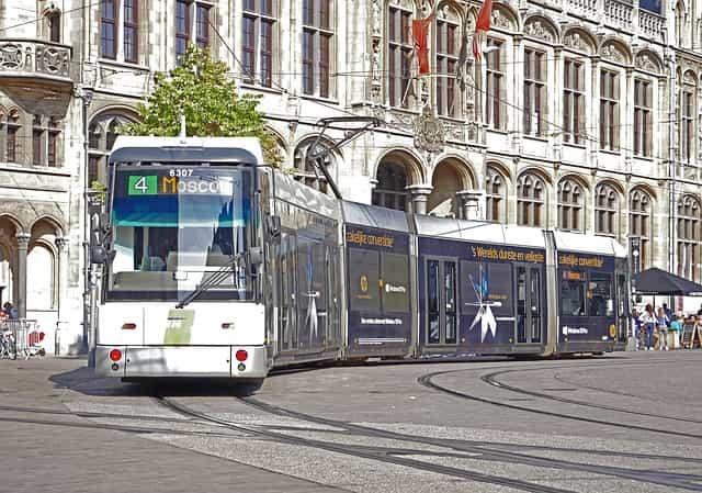 ベルギーの物価 交通機関の料金