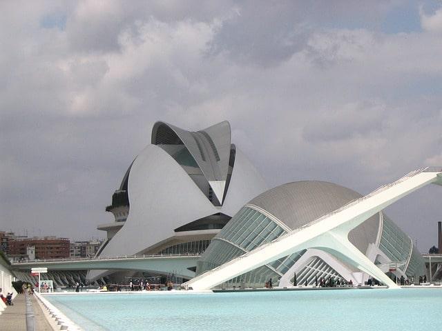 バレンシアの観光名所・芸術科学館